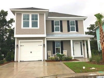 North Myrtle Beach Single Family Home For Sale: 5208 Sea Coral Way