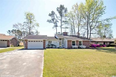 Surfside Beach Single Family Home For Sale: 582 Circle Drive