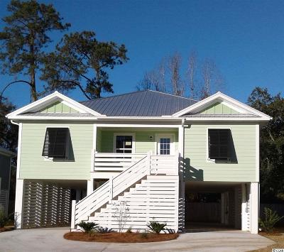 Pawleys Island Single Family Home For Sale: 55 Tidelands Trail