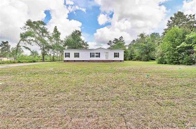 Galivants Ferry SC Single Family Home Active-Pend. Cntgt. On Financi: $115,000