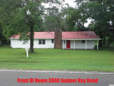 Conway Single Family Home For Sale: 3940 SW Juniper Bay Rd.