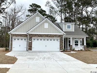 North Myrtle Beach Single Family Home Active-Pend. Cntgt. On Financi: Tbd North Cove Court