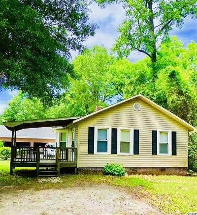 Loris SC Single Family Home Active-Pending Sale - Cash Ter: $42,500
