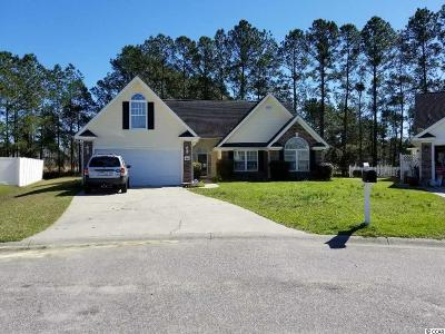 Horry County Single Family Home Active-Pend. Cntgt. On Financi: 3882 Camden Dr