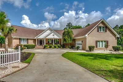 North Myrtle Beach Single Family Home Active-Pending Sale - Cash Ter: 2409 Royal Oak Circle