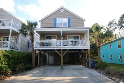 Surfside Beach Single Family Home For Sale: 125-B 12th Ave South