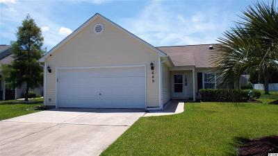 Myrtle Beach Single Family Home For Sale: 649 Glen Haven Dr.