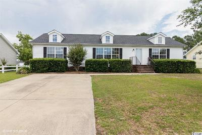 Murrells Inlet Single Family Home For Sale: 121 Deer Tree Drive