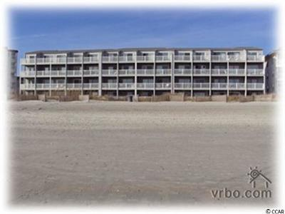 North Myrtle Beach Condo/Townhouse For Sale: 4515 S Ocean Blvd. #105