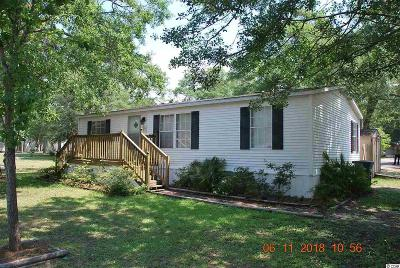 North Myrtle Beach Single Family Home For Sale: 1100 Seagull Blvd