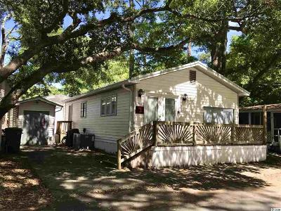 myrtle beach Single Family Home For Sale: 6001 1856 S Kings Hwy.