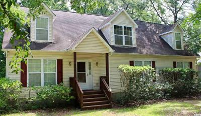 Murrells Inlet Single Family Home For Sale: 530 Bend Ave.