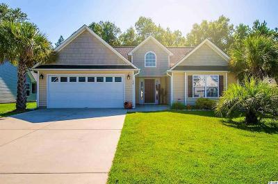 Myrtle Beach SC Single Family Home For Sale: $185,500