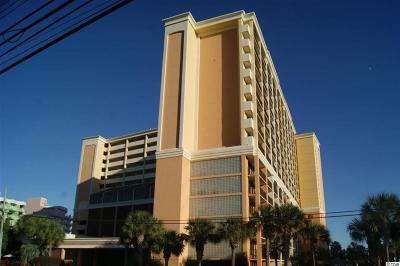 Myrtle Beach Condo/Townhouse For Sale: 6900 N Ocean Blvd #1402