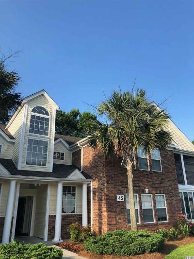 Murrells Inlet Condo/Townhouse For Sale: 45 Woodhaven Drive #D