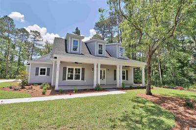 Pawleys Island Single Family Home For Sale: 164 Hill Drive