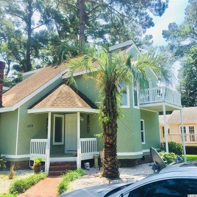 Myrtle Beach Single Family Home For Sale: 1874 Plantation Drive