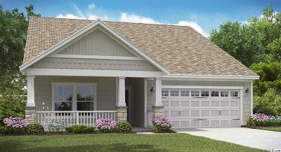 Myrtle Beach Single Family Home For Sale: Sago Palm Drive Lot 259