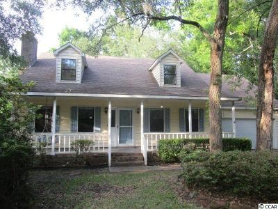 Pawleys Island Single Family Home For Sale: 26 Gray Mans Loop