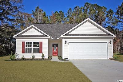 Loris Single Family Home Active-Pend. Cntgt. On Financi: 409 Cotton Grass Dr