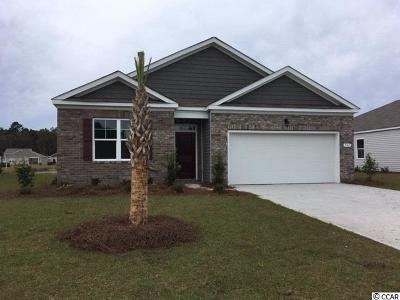 Myrtle Beach Single Family Home Active-Pending Sale - Cash Ter: 541 Affinity Drive
