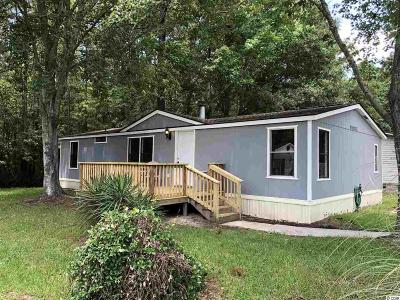 Myrtle Beach SC Single Family Home For Sale: $94,900