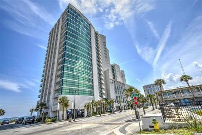 Myrtle Beach Condo/Townhouse For Sale: 201 S Ocean Blvd #1004