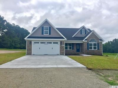Galivants Ferry SC Single Family Home Sold: $320,000