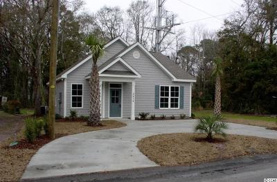 North Myrtle Beach Single Family Home For Sale: 2414 Hilton Dr.