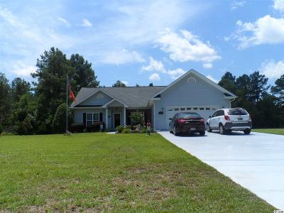 Conway Single Family Home For Sale: 6071 Bear Bluff Road