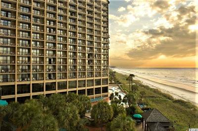 North Myrtle Beach Condo/Townhouse For Sale: 4800 S Ocean Blvd. #911