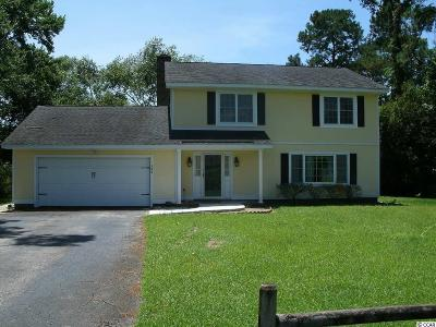 Pawleys Island Single Family Home Active-Pending Sale - Cash Ter: 126 Hill Drive