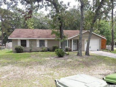 Georgetown Single Family Home For Sale: 2709 Old Charleston Rd