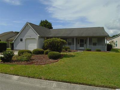 Murrells Inlet Single Family Home For Sale: 618 Bluebird Ln