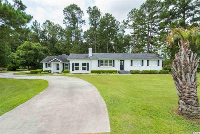 Conway Single Family Home For Sale: 5229 Cates Bay Hwy.