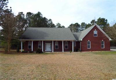 Conway Single Family Home For Sale: 4985 Pee Dee Highway