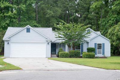 Murrells Inlet Single Family Home For Sale: 709 Hummingbird Drive