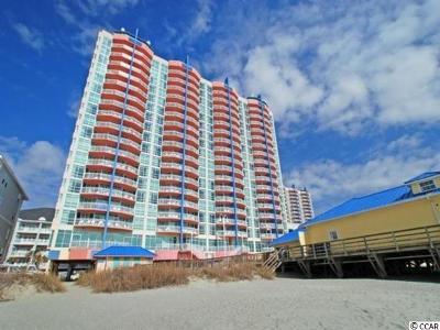 North Myrtle Beach Condo/Townhouse For Sale: 3500 N Ocean Blvd #PH1901