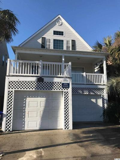 Surfside Beach Single Family Home For Sale: 1014 S Ocean Blvd