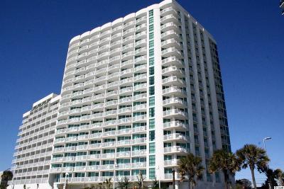 Myrtle Beach Condo/Townhouse For Sale: 201 S Ocean Blvd #615 #615