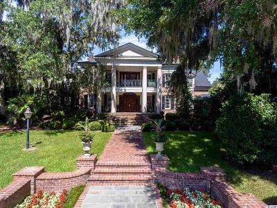 Pawleys Island Single Family Home For Sale: 4 Lower Waverly Rd.