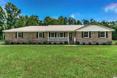 Conway Single Family Home For Sale: 4320 Pee Dee Highway