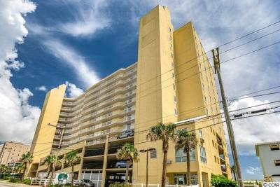 North Myrtle Beach Condo/Townhouse For Sale: 5404 N Ocean Boulevard #8F