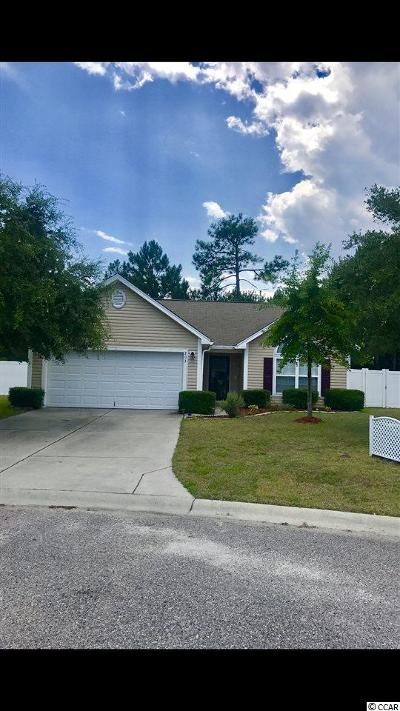 Myrtle Beach SC Single Family Home For Sale: $174,999