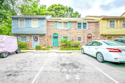Myrtle Beach Condo/Townhouse For Sale: 830 44h Ave N. #F2