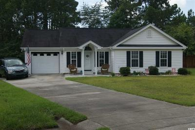 Myrtle Beach SC Single Family Home For Sale: $175,000