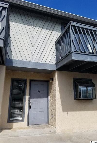 Myrtle Beach Condo/Townhouse For Sale: 504 N 30th Ave #26