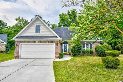 Murrells Inlet Single Family Home For Sale: 9667 Troon Ct