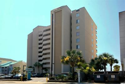 North Myrtle Beach Condo/Townhouse For Sale: 517 South Ocean Blvd. #805