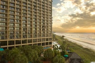 North Myrtle Beach Condo/Townhouse For Sale: 4800 S Ocean Blvd #719